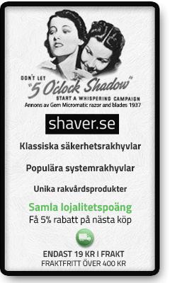 Köp rakhyvlar på shaver.se